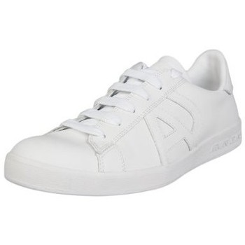 Shoes Men Trainers Armani Jeans Casual Trainers 06565 YO white