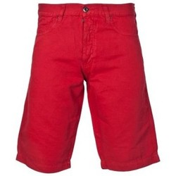 Clothing Men Shorts / Bermudas Armani jeans Designer Linen Shorts in Red  Black and Khaki Green A6S53KG red