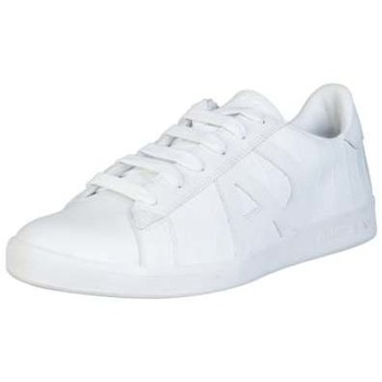Shoes Men Low top trainers Armani Jeans Trainers 935565CC502 white