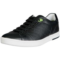 Shoes Men Low top trainers Hugo Boss Green HUGO BOSS Trainers RAY CHECK 50311647 black