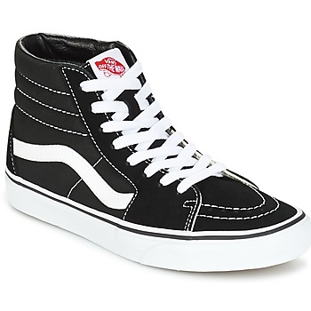 Shoes Men Hi top trainers Vans SK8-HI Black / White