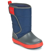 Shoes Children Snow boots Crocs LODGEPOINT SNOW BOOT K MARINE
