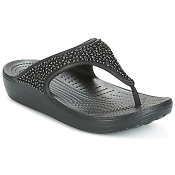 Shoes Women Flip flops Crocs SLOANE Black
