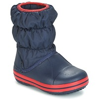 Shoes Children Wellington boots Crocs WINTER PUFF BOOT KIDS Marine