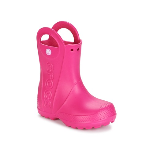 9c32a5930f87 Crocs HANDLE IT RAIN BOOT Pink - Free delivery with Spartoo UK ...