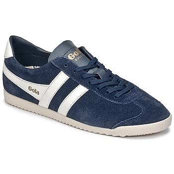 Shoes Low top trainers Gola BULLET SUEDE MARINE / White