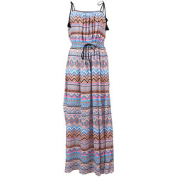 Clothing Women Dresses Seafolly Multicolor Beach Dress New Romantic MULTICOLOUR
