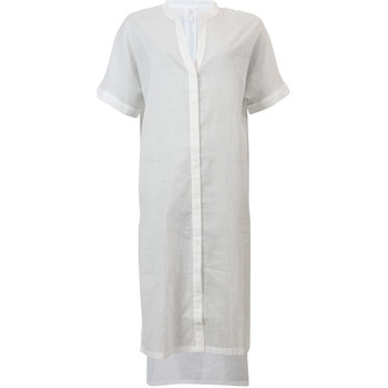 Seafolly  White Beach Dress Textured Voile  womens Dresses in white