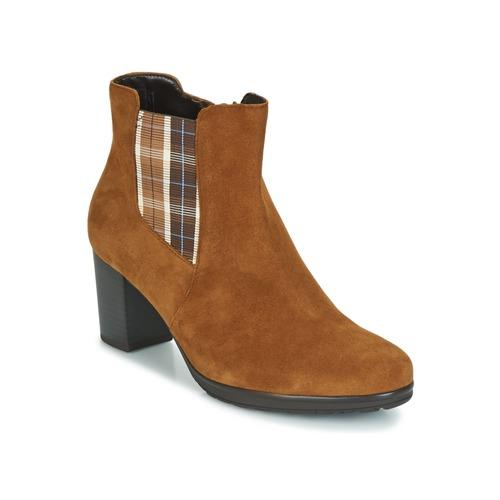 Shoes Women Ankle boots Gabor KAPITU Camel