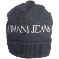 Clothes accessories Men Hats / Beanies / Bobble hats Armani jeans Beanie Hat in Black and Navy Blue U6411C2 black
