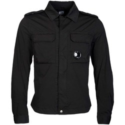 Clothing Men Jackets Cp Company C.P. Company Ultra-Lightweight Jacket in Black CPUS04264001020-9 black