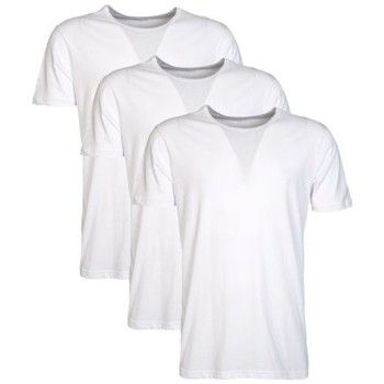 Clothing Men T-shirts & Polo shirts Armani 3 Pack Underwear T-shirts in Black and White 110821CC712 white