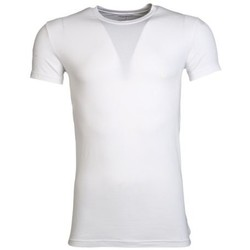Clothing Men short-sleeved t-shirts Armani Crew T-Shirt 1110355A745 white