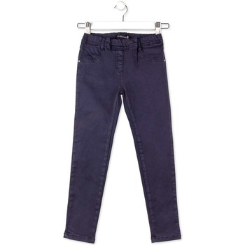 Clothing Boy 5-pocket trousers Losan 714 9658AB Trousers Kid Blue Blue