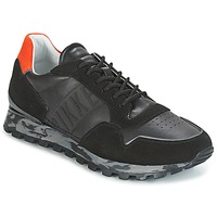 Shoes Men Low top trainers Bikkembergs FEND-ER 946 Black / Orange