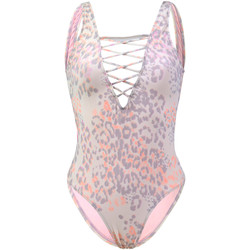 Clothing Women Swimsuits Rip Curl One piece Purple swimsuit Animalia VIOLET