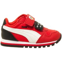 Shoes Children Low top trainers Puma Sesame Str ST Runner White-Red-Black