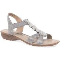 Shoes Women Sandals Remonte Dorndorf Kalei Womens Casual Sandals Silver