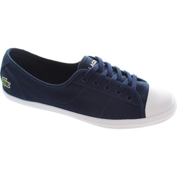 Shoes Women Low top trainers Lacoste Ziane Navy