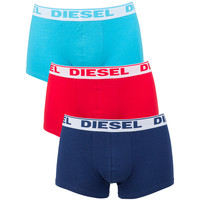Clothing Men Trunks / Underwear Diesel Men's Shawn 3 Pack Boxer Trunks, Multicoloured multicoloured