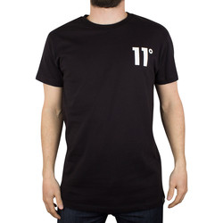 Clothing Men short-sleeved t-shirts 11 Degrees Men's Core Logo T-Shirt, Black black