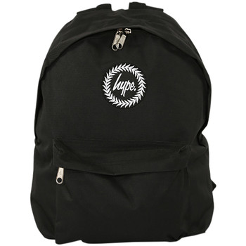 Bags Men Rucksacks Hype Men's Badge Backpack, Black black