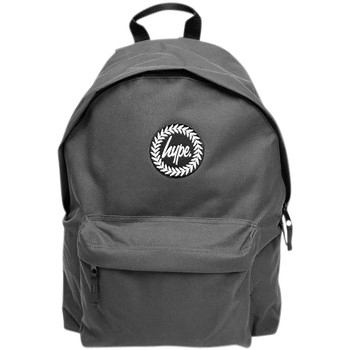 Bags Men Rucksacks Hype Men's Badge Backpack, Grey grey