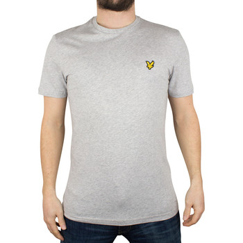 Clothing Men short-sleeved t-shirts Lyle & Scott Men's Logo T-Shirt, Grey grey