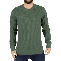 Clothing Men jumpers J Lindeberg Men's Ryan Urban Braid Knit, Green green