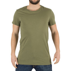 Clothing Men short-sleeved t-shirts J Lindeberg Men's Cody Light Plain Jersey T-Shirt, Green green