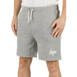 Clothing Men Shorts / Bermudas Hype Men's Script Logo Shorts, Grey grey