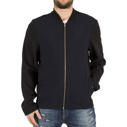Clothing Men Jackets Religion Men's Tracky Woven Raglan Bomber Jacket, Black black