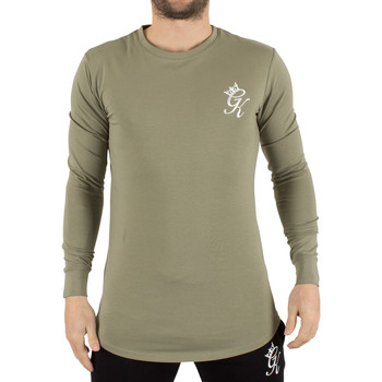 Clothing Men Long sleeved tee-shirts Gym King Men's Undergarment Longsleeved Logo T-Shirt, Green green