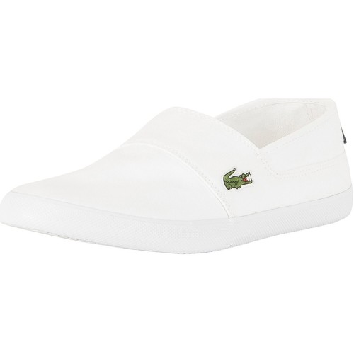 Shoes Men Slip-ons Lacoste Marice BL 2 CAM Trainers white