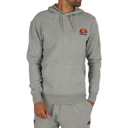 Clothing Men sweatpants Ellesse Men's Toce Left Logo Hoodie, Grey grey