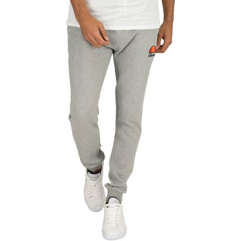 Clothing Men Tracksuit bottoms Ellesse Men's Ovest Logo Joggers, Grey grey