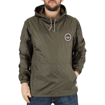Clothing Men Macs Hype Men's Fishtail Crest Logo Jacket, Green green