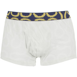 Clothing Men Trunks / Underwear Vivienne Westwood Men's Pattern Waistband Trunks, White white