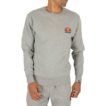 Clothing Men sweatpants Ellesse Men's Diveria Left Chest Logo Sweatshirt, Grey grey
