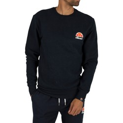 Clothing Men Sweaters Ellesse Diveria Left Chest Logo Sweatshirt blue