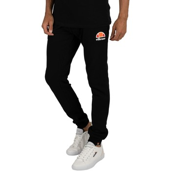 Clothing Men Tracksuit bottoms Ellesse Ovest Logo Joggers black