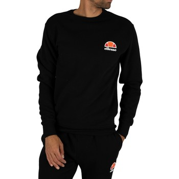 Clothing Men Sweaters Ellesse Diveria Left Chest Logo Sweatshirt black