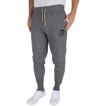 Clothing Men Tracksuit bottoms Diesel Men's UMLB Peter Logo Joggers, Grey grey