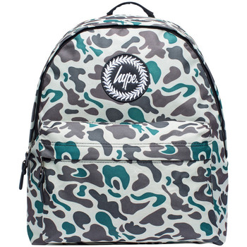 Bags Men Rucksacks Hype Men's Division Logo Backpack, Green green