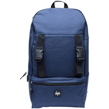 Bags Men Rucksacks Hype Men's Traveller Logo Backpack, Blue blue