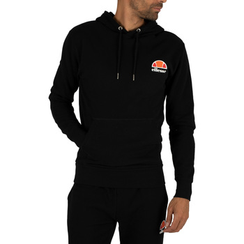 Clothing Men sweatpants Ellesse Men's Toce Left Logo Hoodie, Black black
