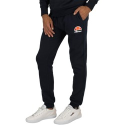 Clothing Men Tracksuit bottoms Ellesse Men's Ovest Logo Joggers, Blue blue
