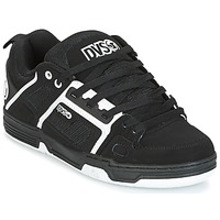 Shoes Men Low top trainers DVS COMANCHE  BLACK / White / Nubuck