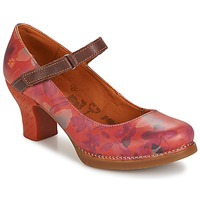 Shoes Women Heels Art HARLEM Red
