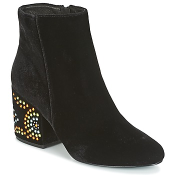 Shoes Women Ankle boots Café Noir GIROU Black